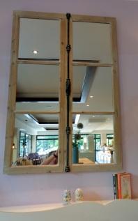 Spiegelbild als Wanddeko
