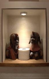 Badbereich Baobab Zimmer