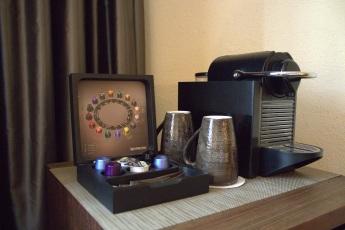 Kaffeestation im Zimmer