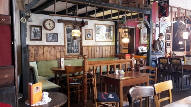 Cafebereich Gasthaus Themse