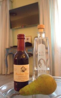 Wasser & Wein zur Begrüßung