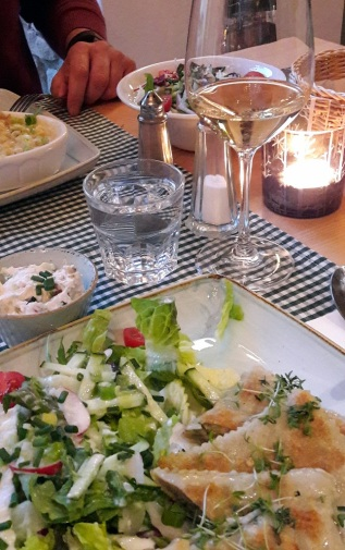 Abendessen im Restaurant