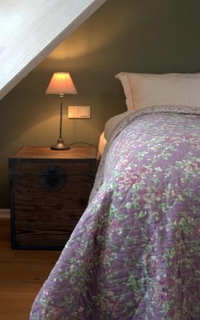 Seitenansicht Bett