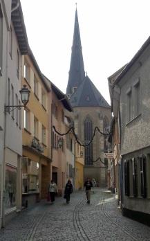 Gassen in Alzey