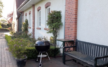 Gartenbereich zum Grillen
