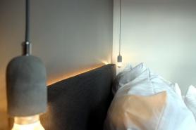 beleuchtetes Bettkopfteil
