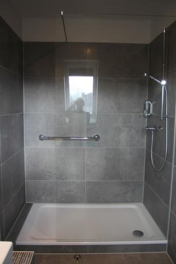 Seitenansicht Dusche