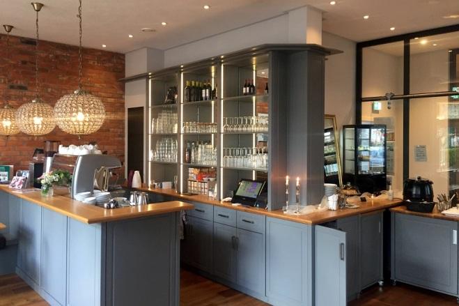 Thekenbereich Cafe