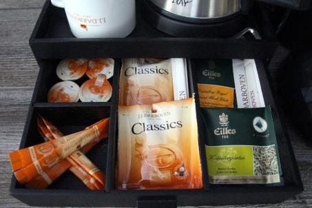 Kaffee und Teeauswahl