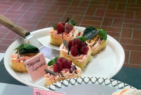 Tropical Cupcake
