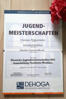 Urkunde NRW Landesmeisterin