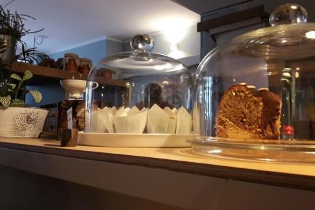 Kuchen auf der Theke
