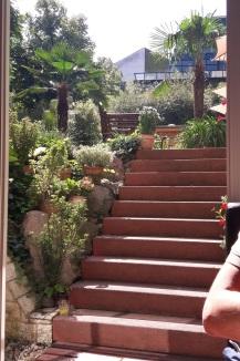 Ausgang zum Garten