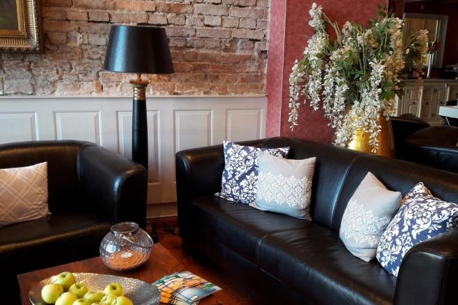 Sofa in Lobby