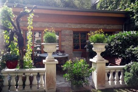 Terrasse vom Gartenhaus