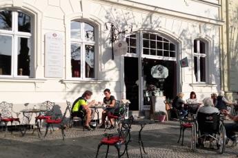 Außenbereich Cafe