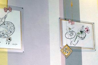 Wandbilder Cafe
