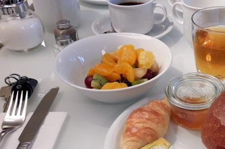 Frühstück vom Buffet