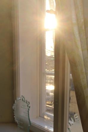 Sonnenstrahl Fenster