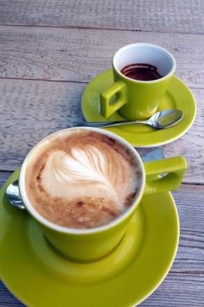 Espresso und Cappuccino