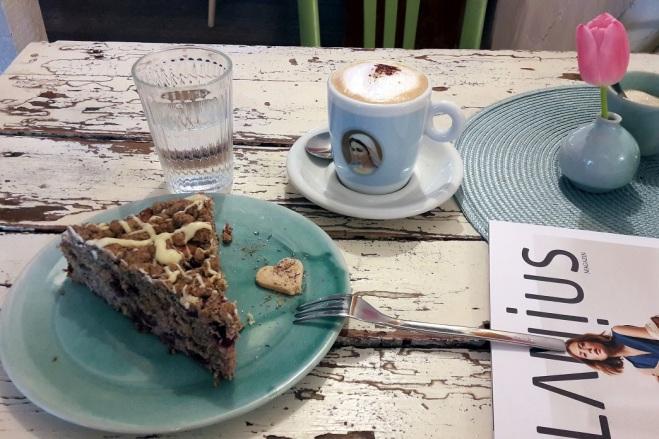 Buchweizen-Kirsch-Kuchen