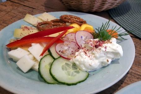 vegetarisches Käsefrühstück