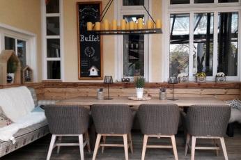 XL Tisch Außenterrasse