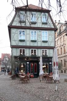 Haus mit Cafe