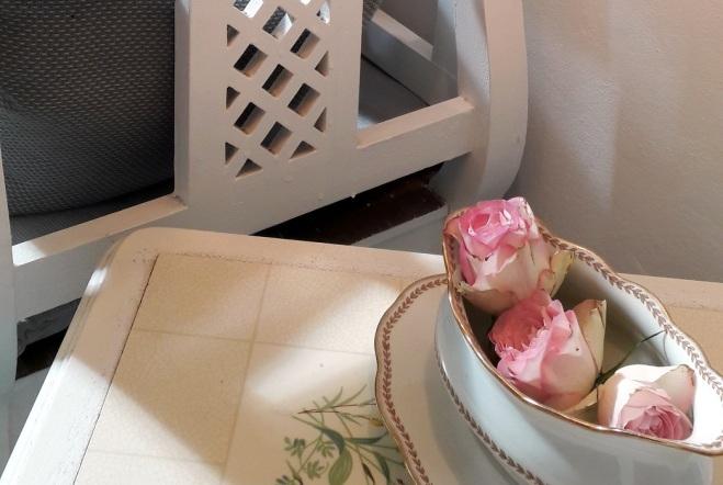 Rosendeko Vintageporzellan