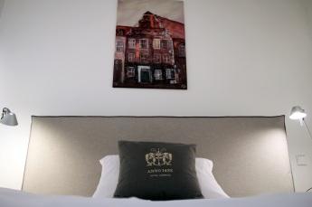 Bettansicht Zimmer 9