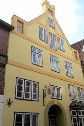 gelbes Haus in Lüneburg