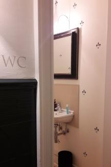 Waschbecken Flur WC