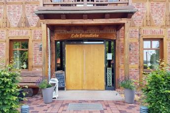 Eingang Cafe Heimatliebe